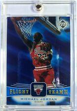 2004-05 Upper Deck Team Flight Michael Jordan #FT33, Chicago Bulls, HOF