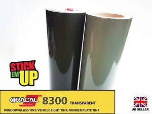 Oracal 8300 Window Tint Film Transparent Self Adhesive Vinyl
