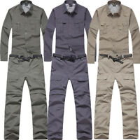 Men Quick Dry Shirt/Pants Fishing Hiking Cycling Mountain Casual Outdoor Suit