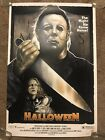 John Carpenter Halloween Michael Myers Print Movie Poster Mondo Horror Sara Deck