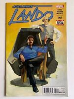 Star Wars Lando #2 Marvel Comics 2015 1st App Chanath Cha Bounty Hunter