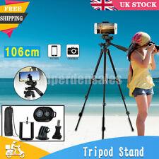 Universal Tripod Stand Telescopic Camera Phone Holder For iPhone Samsung Sony UK
