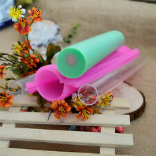 Big Round Tube Pipe Silicone Soap Moulds Making Tools Craft Cutter Molds