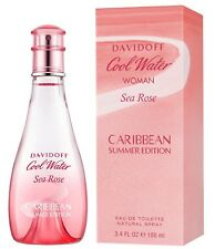 Davidoff Cool Water Woman Sea Rose Caribbean Summer 100mL EDT Perfume for Women