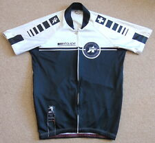 "GOOD CONDITION ASSOS EQUIPE JERSEY. LARGE 39"" CIRCUMFERENCE"