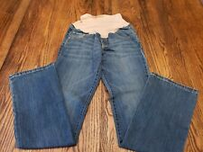 Old Navy Maternity Bootcut Full Panel Jeans Size 2