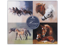 NEW Coasters Cork Backed Set of 4 Horses Collection Horse Foal