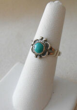 Trading Post Turquoise Ring 222504 Vintage Southwest Sterling Silver Bells