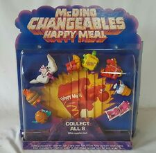 McDONALD'S ROBOT FOOD MCDINO CHANGEABLES TRANSFORMERS STORE DISPLAY DINOSAUR