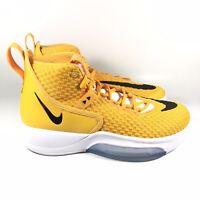 Nike Zoom Rize University Gold Black Basketball Shoes CN9502-702 Mens Size 7.5