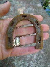 VECCHIO Vintage Metallo Scarpa Heal COTTURA NAIL Stivali LUCKY Horse Shoe tipo DECOR