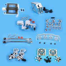 Yeah Racing 1/10 RC Rock Crawler Chrome Scale Accessory Set YA-0255SV