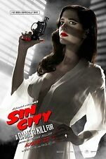 Sin City A Dame to Kill For Eva Green Banned Silk Wall Poster HD 24x36 inches