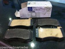 OEM GENUINE MERCEDES BENZ NEW FRONT BRAKE PADS W/ SENSOR E550 4MATIC W/ 494
