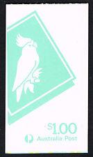 Australia 1985 Cockatoo $1 Booklet = Mint Perfect Nh = Sgsb54