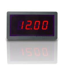 """3 1/2 Mini 0.5"""" 3½ DC 20V Red LED Digital Display Volt Panel Meter 12V Voltmeter"""