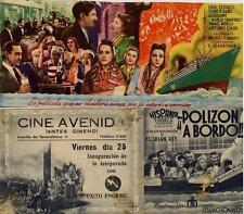 Programa PUBLICITARIO de CINE: !!POLIZON A BORDO!!