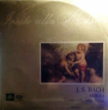 DISCO 33 GIRI  INVITO ALLA MUSICA J. S. Bach corali trittico della Santa Trinità