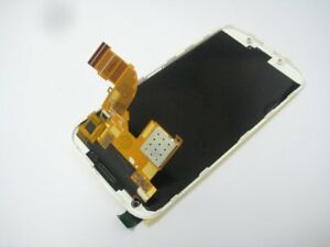Full LCD display touch screen with frame for Motorola Moto X XT1055 XT1056 White