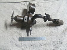 AIR PRESSURE REGULATOR WITH GAUGE & FITTINGS, 0-60 PSI US GAGE CO , MADE IN USA.