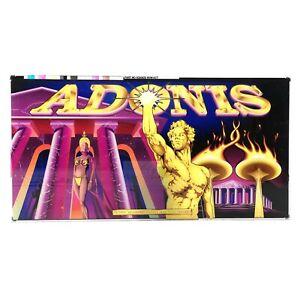 Adonis Aristocrat Poker Pokies Gaming Machine Advertising Game Artwork 1998