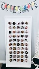 White Donut Wall With Stand - Donut Bar - Doughtnut Wall - Doughnut Stand