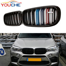Carbon fiber Front Hood Kidney Grille Grill for BMW X5 F15 X5M 2015 2016 2017