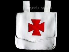 MASONIC REGALIA- KNIGHTS TEMPLAR (KT) ALMS WHITE BAG (PREMIUM QUALITY) NEW