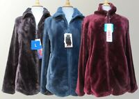 Ladies 32 Degree Heat Fleece Full Zip Jacket Soft Touch Velour S M L XL BMWT