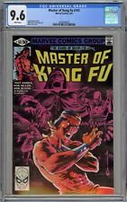 Master of Kung-Fu #101 CGC 9.6 NM+ Wp Marvel 1981 Shang-Chi & Zeck Cover & Art