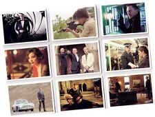 "James Bond Autographs & Relics - 110 Card ""Skyfall"" Basic/Base Set - 2013"