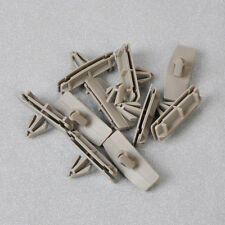 10 pcs Grey Flare Arrow Head Fender Moulding Clips For 55157055AA Jeep Liberty