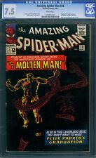Amazing Spider-man #28-1965-MOLTEN MAN -CGC 7.5- DITKO 1200953001