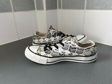 BLACK & GREY CAMPBELL SOUP CONVERSE ALL STAR Size 4 UK