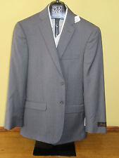 $650 New Jos A Bank JOSEPH Grey stripe pattern suit 36 R 30 W Slim fit
