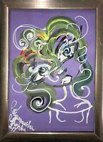 Malerei A4 PAINTING abstract abstrakt erotic EROTIK akt Margaita Bonke