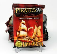 WIZKIDS PIRATES RISE OF THE FIENDS MODEL TCG BOOSTER PACK LOT (6 PACKS)