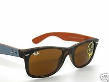 RAY BAN SUNGLASSES 2132 MATTE HAVANA/BROWN  6179 NEW WAYFARER 55