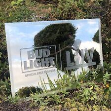 Bud Light Nfl Kansas City San Francisco Super Bowl Liv Football Beer Bar Mirror