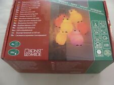 Konstsmide 1477-503 - LED Deko Lichterkette Eulen-Uhu Tisch Wand Kinder Party