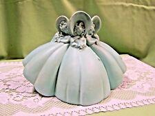 Beautiful Haeger Pottery Planter/Vase Three Sun Bonnets Ladies