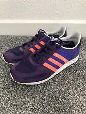 Adidas LA   Trainers Purple Orange Used Junior / Ladies Size 5