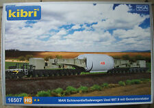 Kibri H0 16507 Tiefladewagen Uaai 687.9