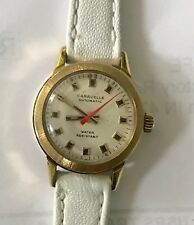 LADIES BULOVA CARAVELLE AUTOMATIC NEW BAND KEEPS GREAT TIME!