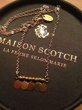 * Tolle Kette von Maison Scotch * Gold *