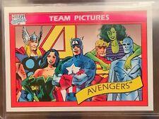 1990 Marvel Universe Avengers perfect 10! PSA CGC BGS ready GEM MINT LOW POP!!