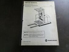 BT Prime-Mover OE-35 Electric Order Selector Repair Manual   August 1993