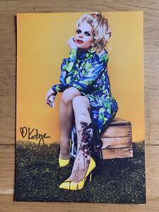 Rupaul's Drag Race All Star Katya Zamolodchikova Signed 17.5 X 22.5 Print