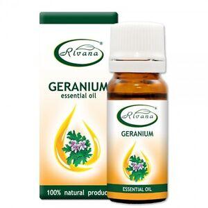 Geranium Oil geranienöl 10 ML 100% Essential Oil Pelargonium graveolens