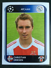 2010-11 Panini Champions League sticker # 460 Christian Eriksen Ajax rookie